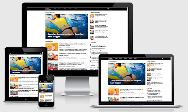 Download Template Viva Style SEO & Responsive Blogger Gratis