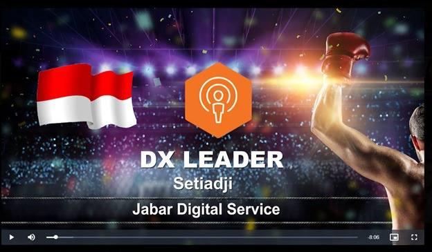 Kadiskominfo Jabar Setiaji Raih IDC DX Leader 2020
