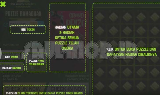Puzzle Ramadhan Event Terbaru Free Fire Berhadiah Bundle Dynastic Warlord