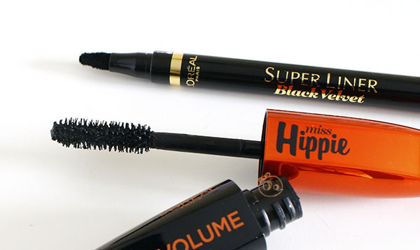 Festival Ready Loreal Mega Volume Miss Hippie Super Liner Black Velvet