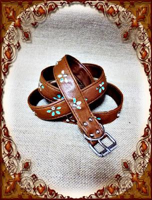 tutorial: cinturón reciclado de un bolso de bandolera