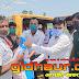 तरैंयाँ के आधा दर्जन गाँवों में मुखिया संगम बाबा ने खाद्य सामग्री बाँटी