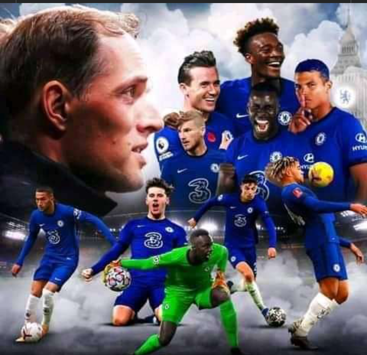 Chelsea players image here
