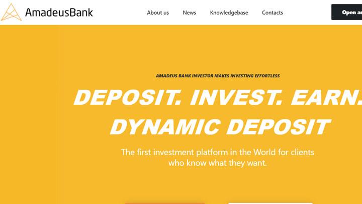 [SCAM] Review AmadeusBank – Dự án ngân hàng rất tiềm năng