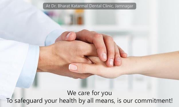 corona safe dental clinic at jamnagar, gujarat, india