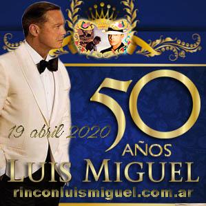 Luis Miguel, feliz cumpleaños
