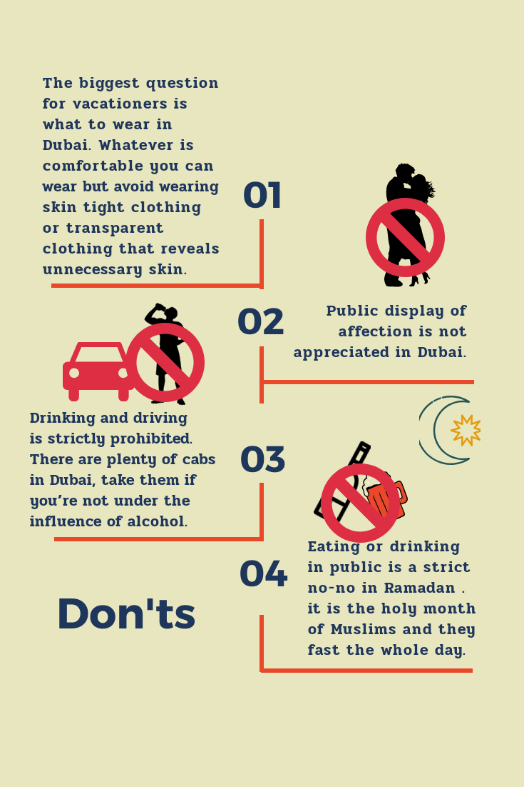 Dubai Do's and Don'ts @doibedouin