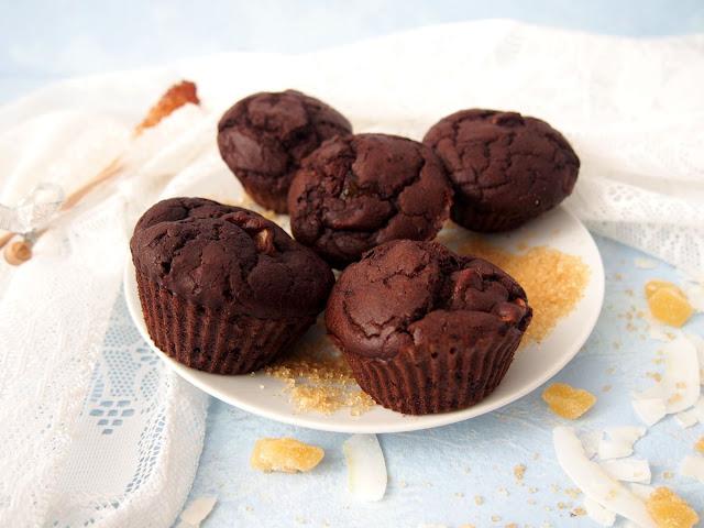 fit babeczki czekoladowe