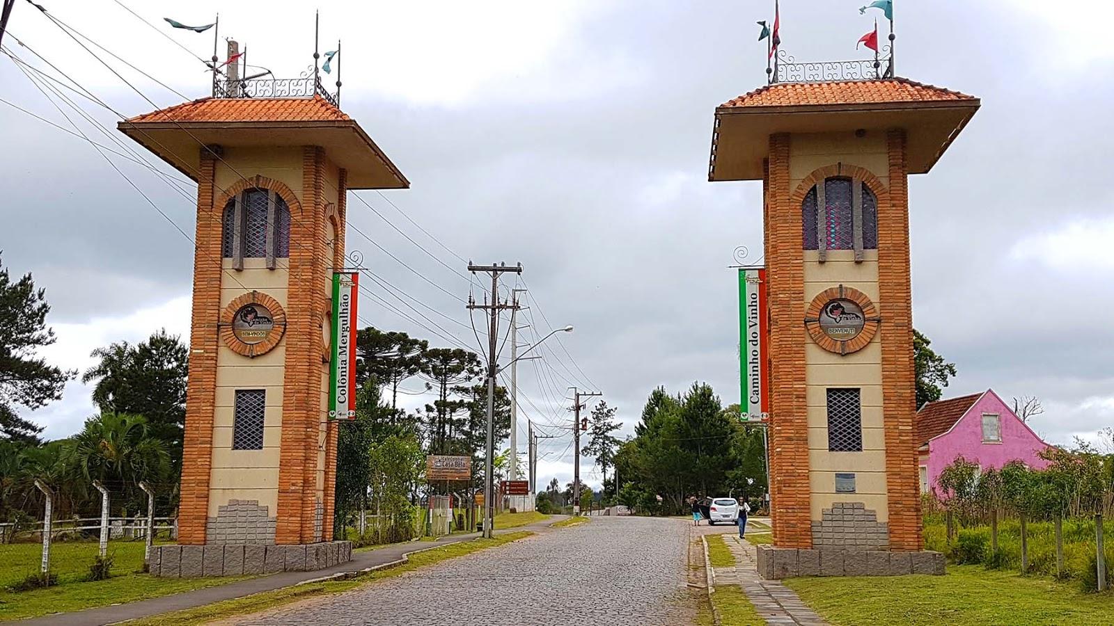 Caminho do Vinho- Colônia Megulhão, Paraná