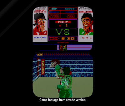 Punch-Out!! Arcade VS Glass Joe Nintendo