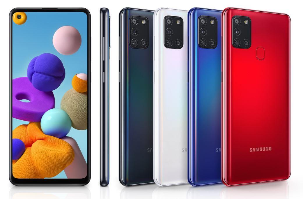 Komparasi Samsung Galaxy A21s vs Samsung Galaxy M21
