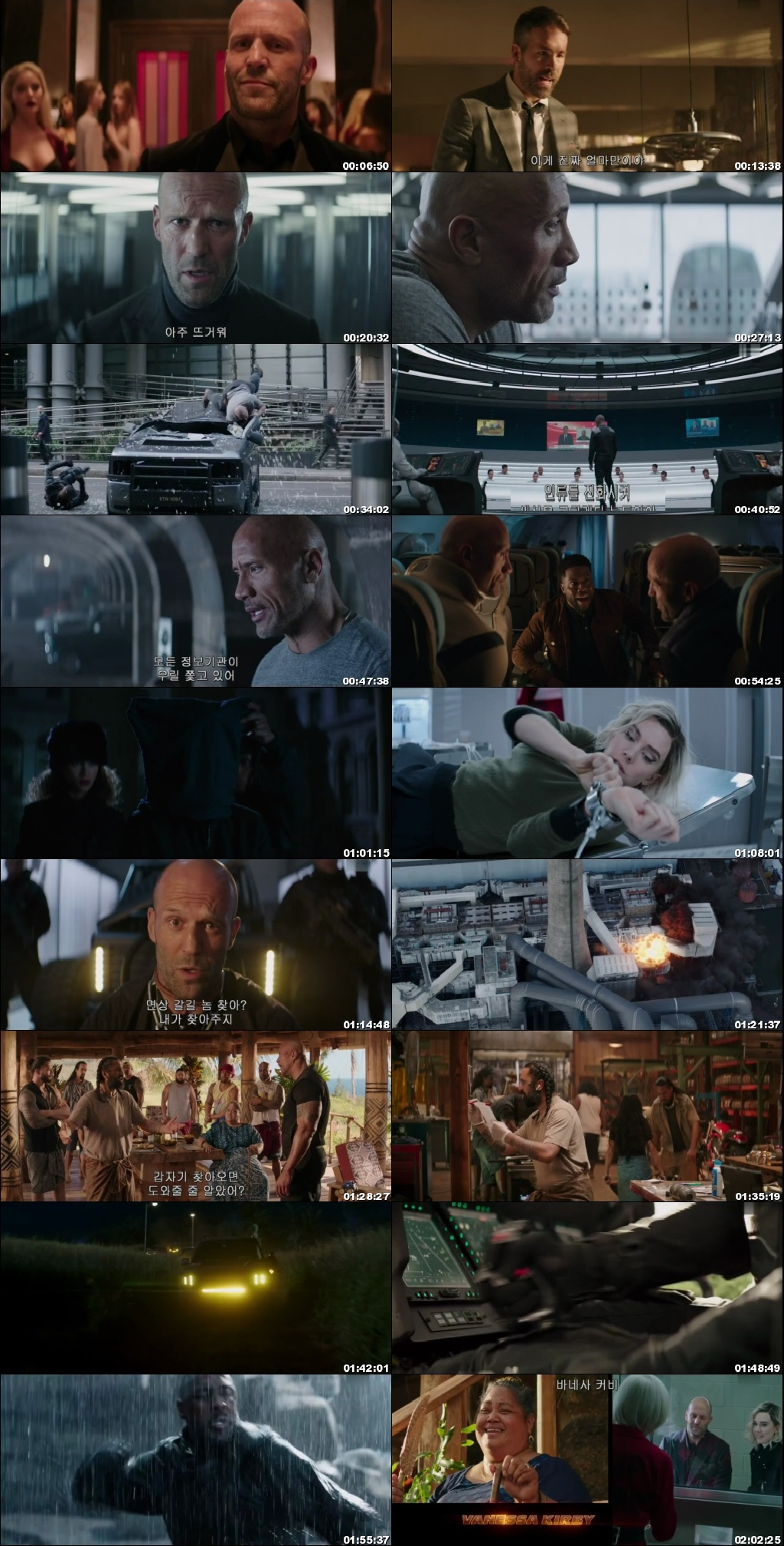Screen Shot Of Fast & Furious Presents: Hobbs & Shaw 2019 In Hindi English Dual Audio Bluray