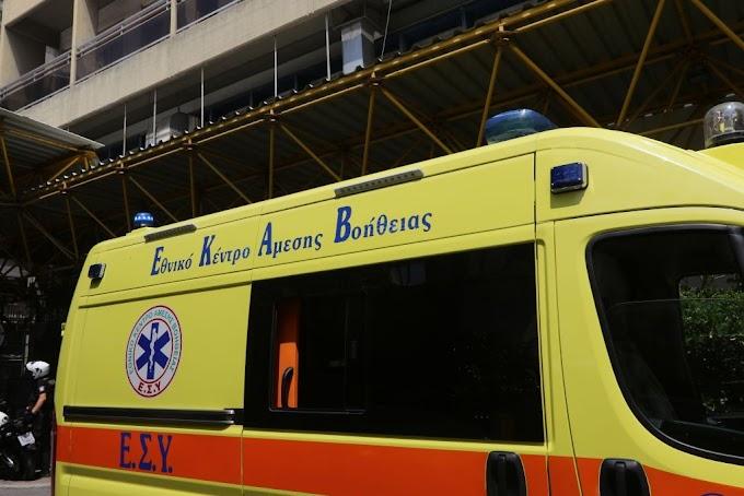 Κρήτη: Αυτοτραυματίστηκε μπροστά τα παιδιά του