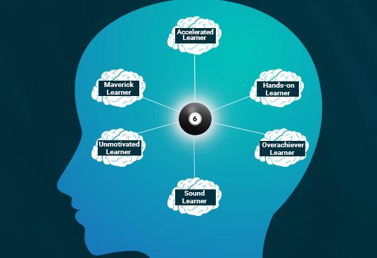 6 أنواع شائعة للمتعلمين