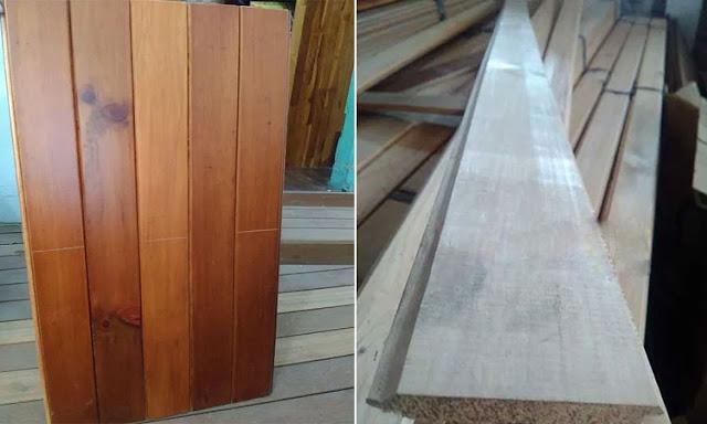 lambersering kayu agathis