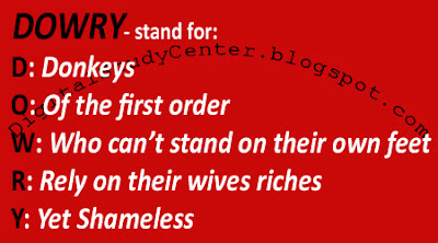 Stand for: DOWRY