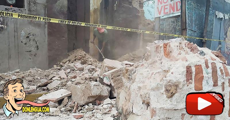 Terremoto de 7.5 movió muchos edificios de México