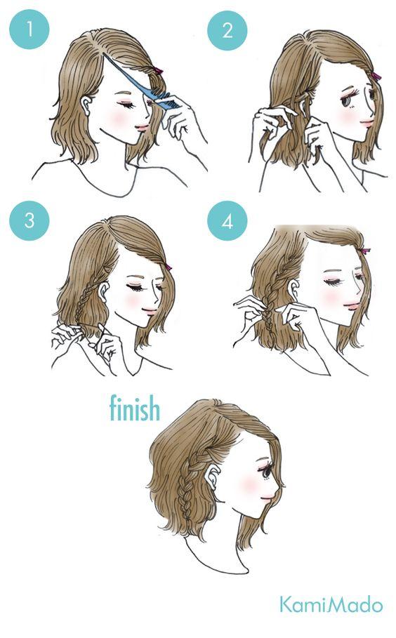 garota star fashion 5 penteados super fofos tumblr e fáceis pra