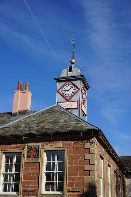 Gorgeous day, Carlisle town hall - C. Gault 2018