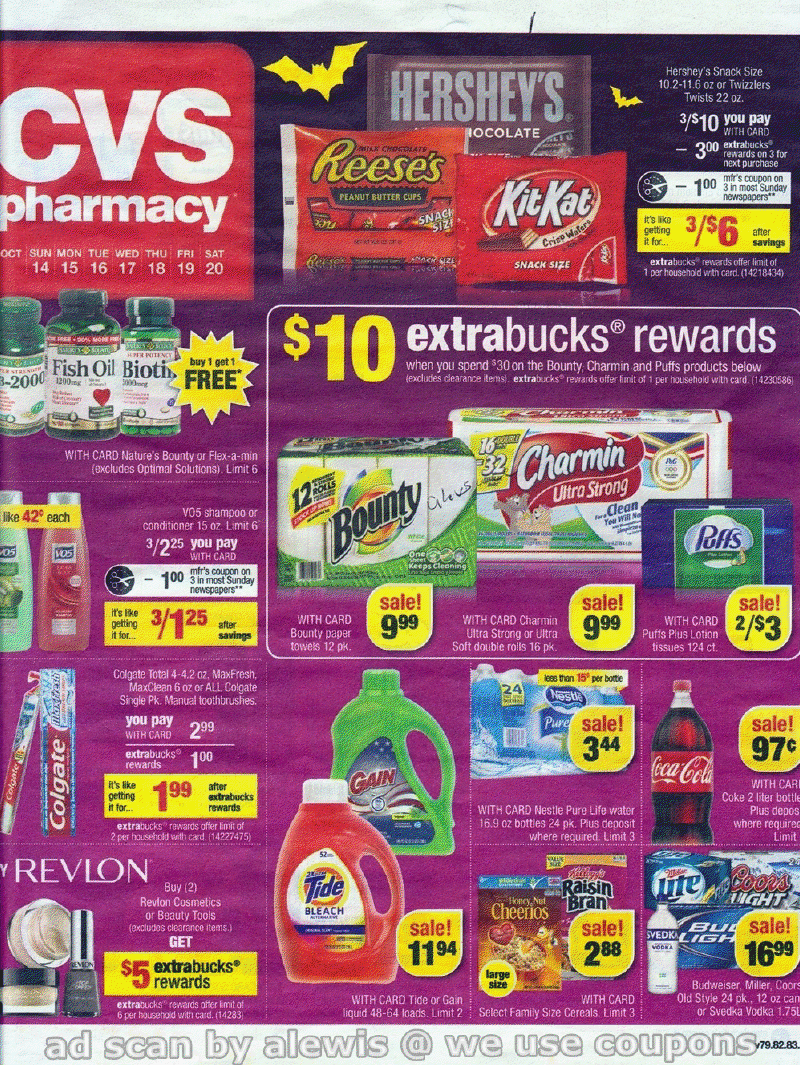 Simply CVS: CVS Ad Scan Preview for the Week of October 14, 2012