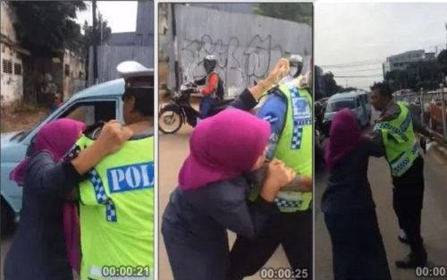 Video Wanita MA Mengamuk, Maki-Maki Dan Cakar Polisi, Parah! Gara-Garanya Begini...