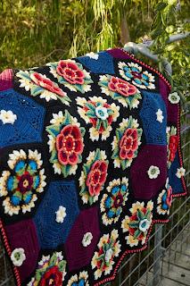 Knit Amp Crochet Design Frida S Flowers Crochet Along
