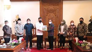 Suksesi Rakernas APKASI, Bupati Muratara Sambangi Gubernur Bali