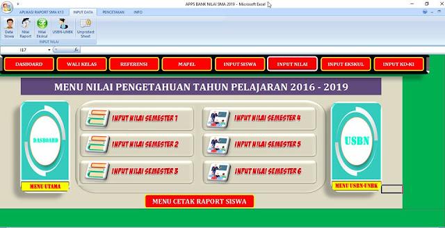 Apps Bank Nilai SMA 2019-2020