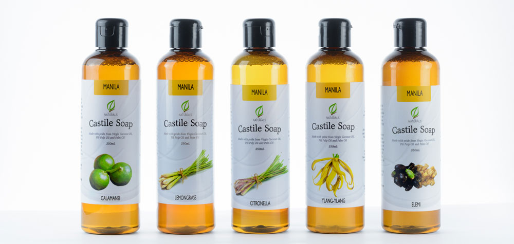Castile Soap made from ingredients of the Philippines