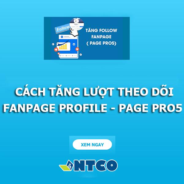 tang luot theo doi fanpage