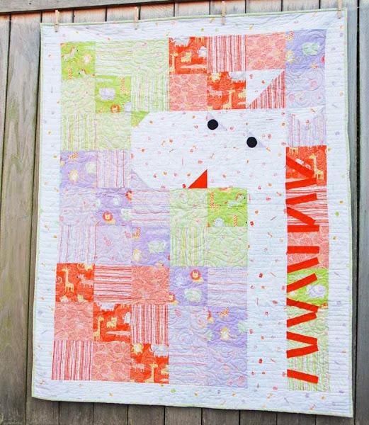 Safari Sweet Quilt Designed by Alyssa Thomas for Clothworks, Featuring Penguin and Fish
