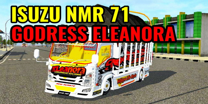 mod bussid nmr 71 godress eleanora