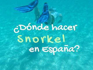 Mejores sitios para hacer snorkel en España