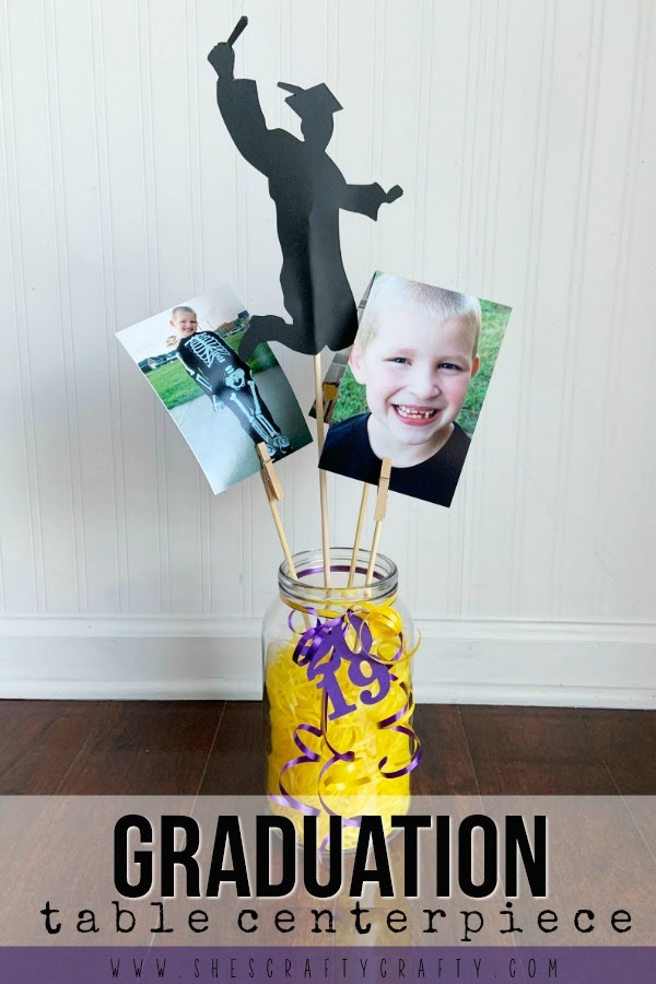 How to make easy and inexpensive Graduation Table Centerpieces