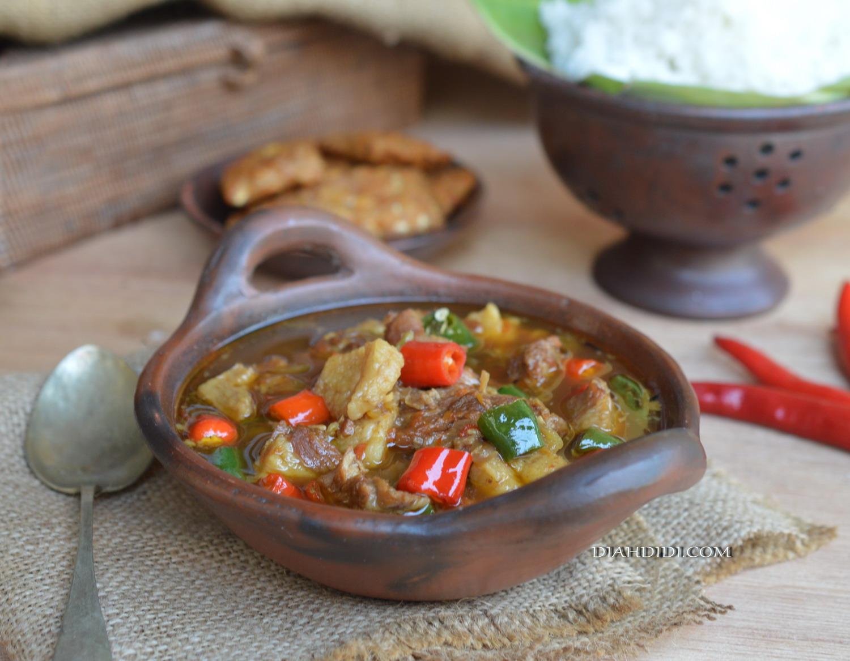 Resep Cake Pisang Diah Didi: Diah Didi's Kitchen: Asem Asem Daging Wonogiri