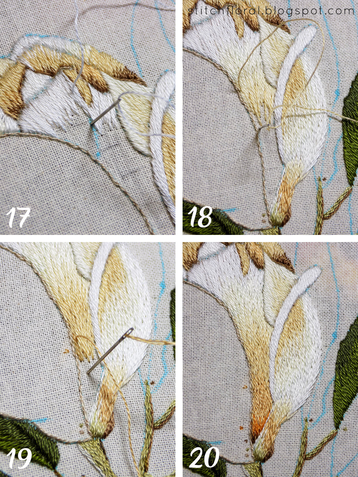 Magnolia Stitch Along Part 4