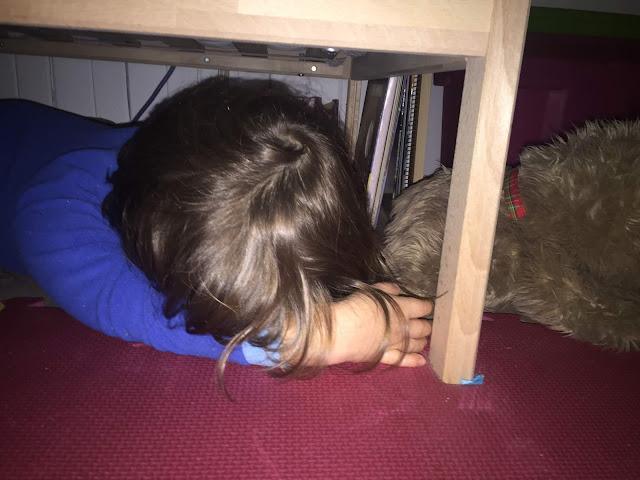 festivités s'endormir sous le lit