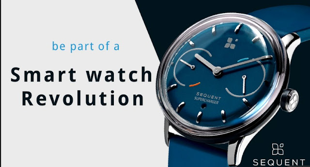 Sequent Smartwatch: This Smart Have A Self-Charging Battery Feature