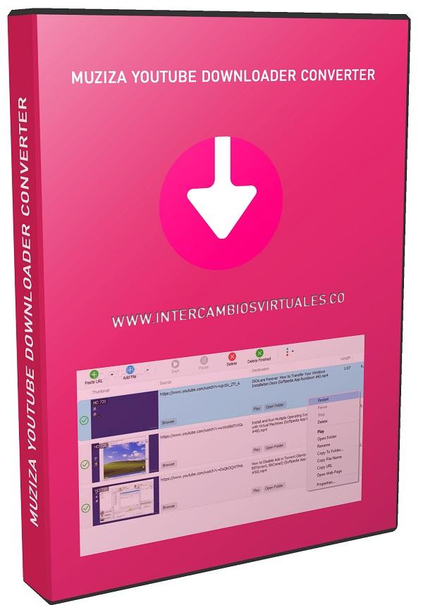 Muziza YouTube Downloader Converter 7.11.1 poster box cover