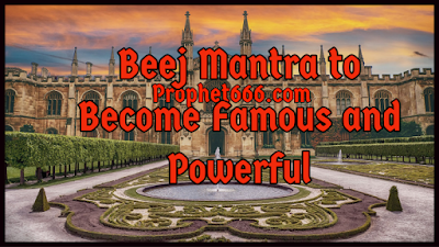 Mantra to Become Rich and Powerful
