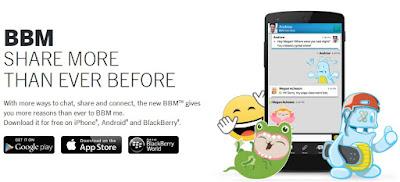 Cara Mudah download  Mendapatkan Sticker BBM Android Gratis Tanpa Root