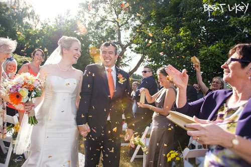 Wedding photography in Warragul by Brent Lukey.