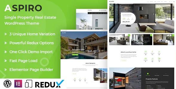 Best Single Property Premium WordPress Theme