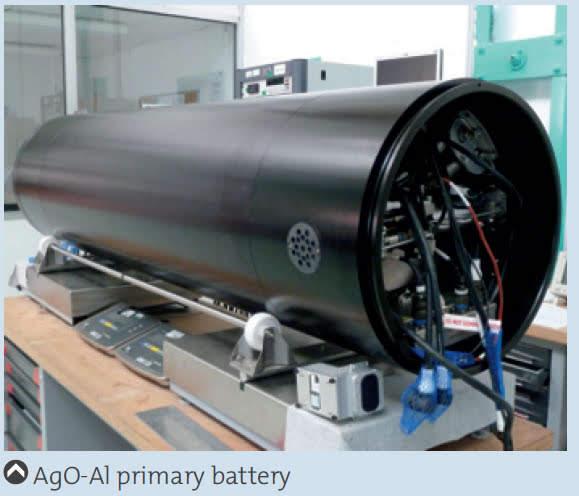 baterías de última generación del tipo óxido de plata y aluminio Torpedo F21