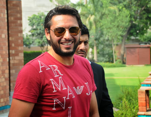 Pakistani Cricketer Shahid Afridi Images HD Wallpaper