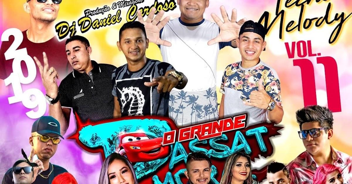CD PASSAT MORAL TEN MELODY 2019 VOL.11 - DJ DANIEL CARDOSO