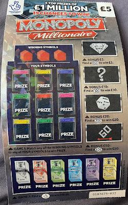 £5 Monopoly Millionaire