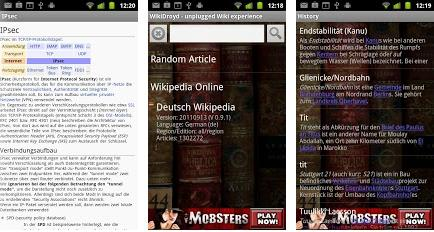 COME FARE A LEGGERE WIKIPEDIA OFFLINE IN VARIE LINGUE SU SMARTPHONE ANDROID