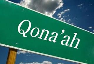 Pengertian Qona'ah