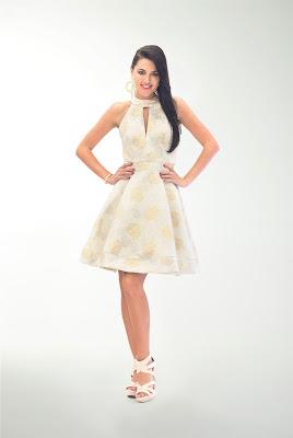 vestidos de graduacion con escote